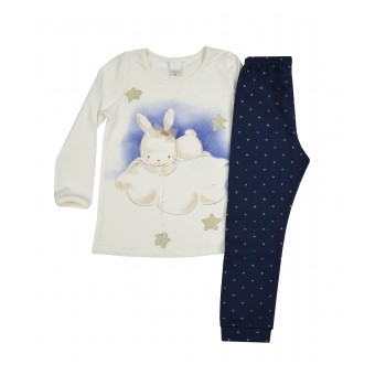 piżamka dziewczęca - A-8572