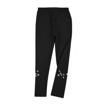 ciepłe legginsy dziewczęce - A-8603