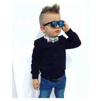 elegancki sweterek chłopięcy