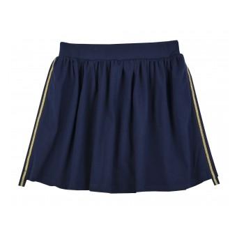 spódnica dziewczęca z lampasami - A-8345