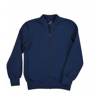 ciepła bluza chłopięca długi zamek - GT-7184