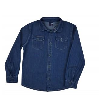 koszula jeansowa długi rękaw - GT-7106