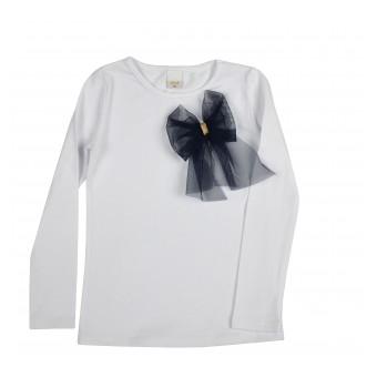 bluzeczka dziewczęca długi rękaw
