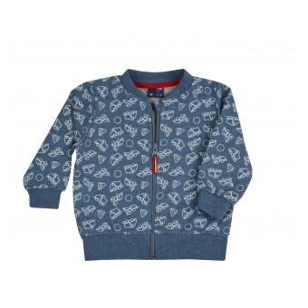 bluza chłopięca długi zamek - GT-7197