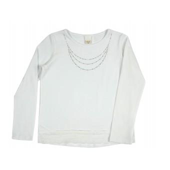 bluzka dziewczęca długi rękaw - A-8628