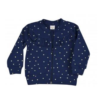 bluza dziewczęca długi zamek - A-8635