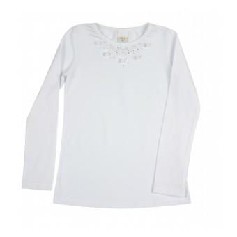 bluzka dziewczęca długi rękaw - A-8641