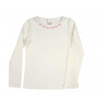 bluzka dziewczęca długi rękaw - A-8610