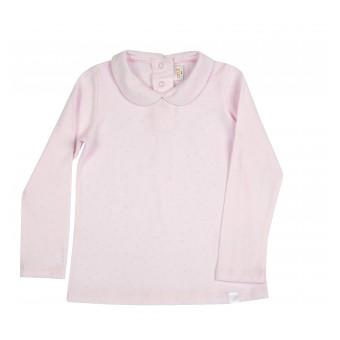 bluzka dziewczęca z kołnierzykiem - AN-8495