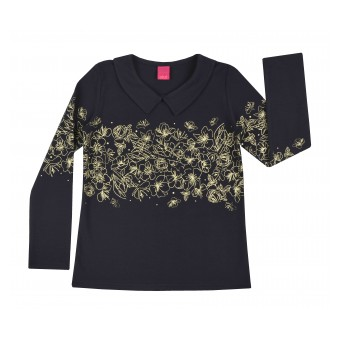 bluzka dziewczęca długi rękaw - AY-6847