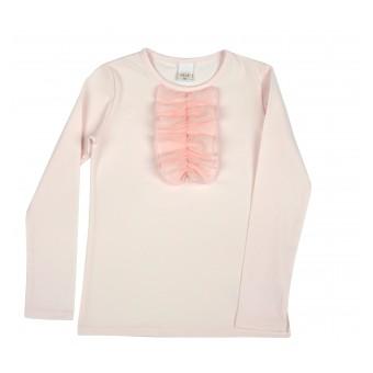 elegancka bluzka dziewczęca długi rękaw - A-8659