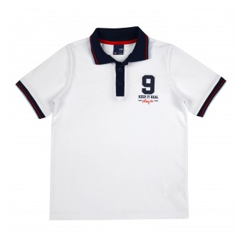 koszulka chłopięca polo - GT-7287