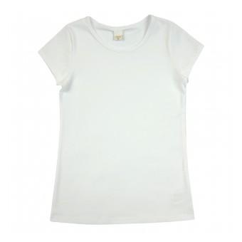 bluzka dziewczęca krótki rękaw - A-8407