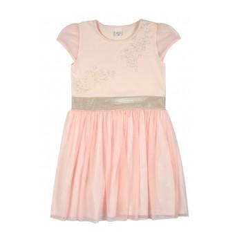 sukienka dziewczęca z tiulem - A-8745