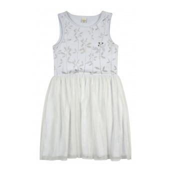 sukienka dziewczęca z tiulem - A-8776