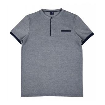 koszulka męska ze stójką - GT-7383