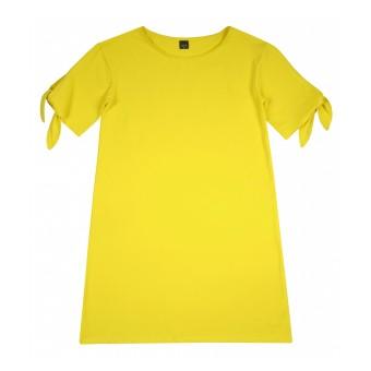 sukienka z wiązaniem - A-8802