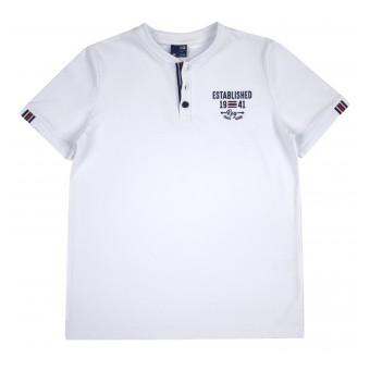 koszulka chłopięca z guziczkami - GT-7438