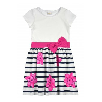 sukienka krótki rękaw - A-8827