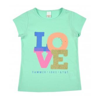 bluzeczka dziewczęca krótki rękaw - A-8852