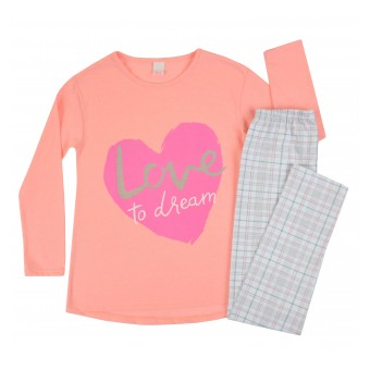 piżama długi rękaw - A-7655