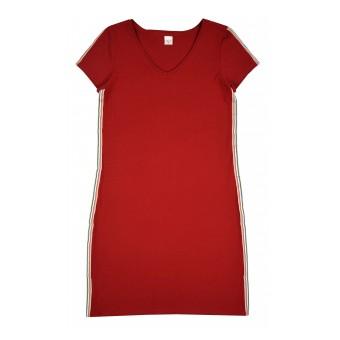 sukienka z lampasem - A-8815