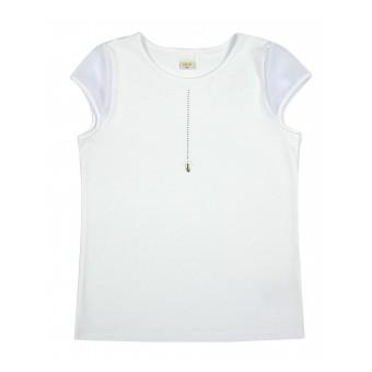 bluzka dziewczęca krótki rękaw - A-8916