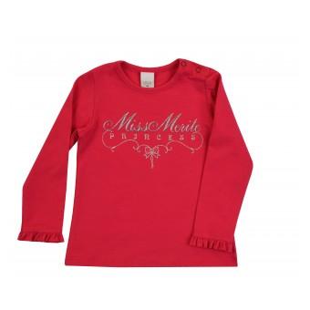 bluzeczka dziewczęca długi rękaw - A-8553