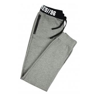 spodnie dresowe z kieszeniami na suwak