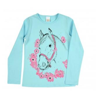 bluzeczka dziewczęca długi rękaw - A-8962