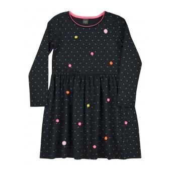 sukienka z bąbelkami - A-8973