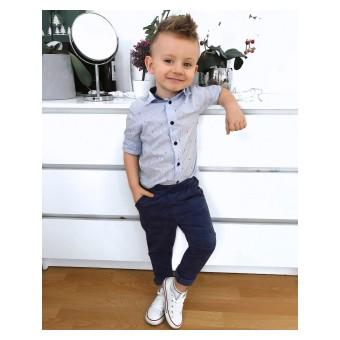 eleganckie spodnie chłopięce - GT-7138