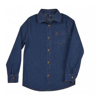 koszula jeansowa z dodatkiem elastanu - GT-7666