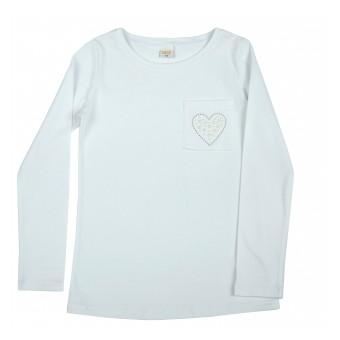 bluzka dziewczęca długi rękaw - A-9044