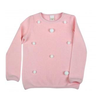 sweterek dziewczęcy - A-9047