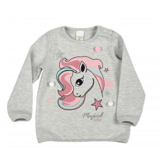 sweterek dziewczęcy - A-9057