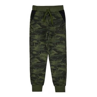 ciepłe spodnie dresowe chłopięce - GT-7739