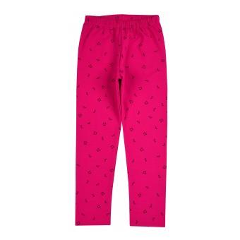 ciepłe legginsy dziewczęce - A-9054