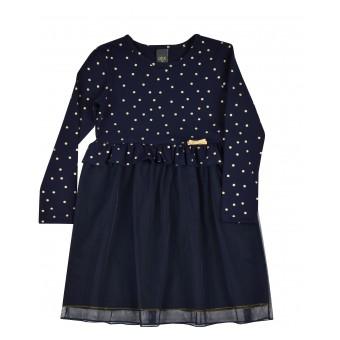 sukienka dziewczęca z tiulem - A-9158