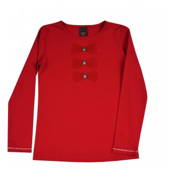 bluzka dziewczęca długi rękaw - A-9162