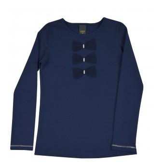 bluzka dziewczęca długi rękaw - A-9163