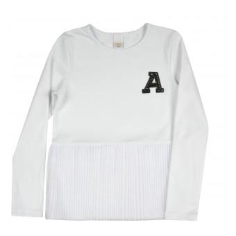 bluzka dziewczęca długi rękaw - A-9169