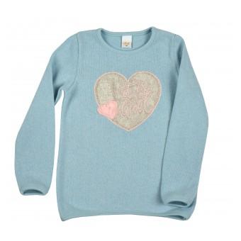 sweterek dziewczęcy