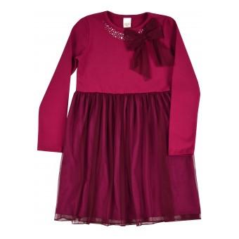sukienka dziewczęca z tiulem - A-9167