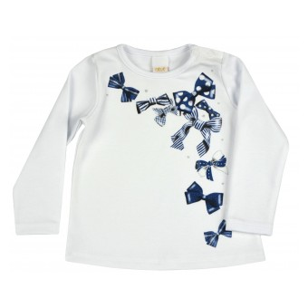 bluzeczka dziewczęca długi rękaw - A-9178