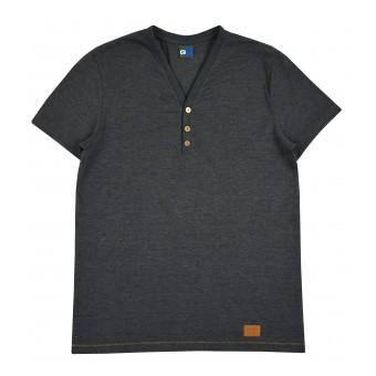 koszulka męska w serek - GT-5936