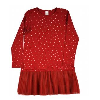sukienka dziewczęca z tiulem - A-9164