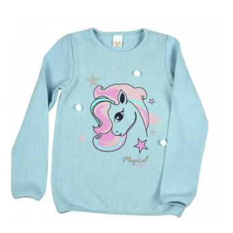 sweterek dziewczęcy - A-9112