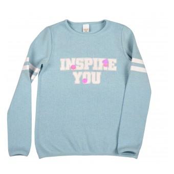 sweterek dziewczęcy - A-9090