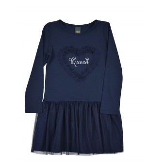 sukienka dziewczęca z tiulem - ASR-7271
